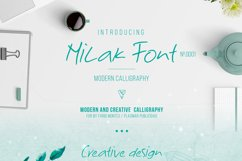 Milak Font Product Image 3