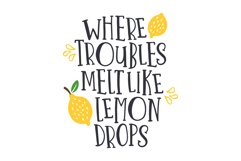 One in a Melon Font Doodles! Product Image 3