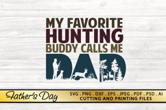 Dad Hunting SVG PNG DXF EPS Father's Day SVG Files Product Image 1