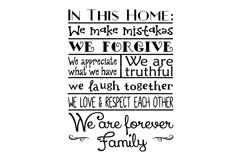 House Rules Farmhouse SVG, Printable and Sublimation PNG Product Image 2