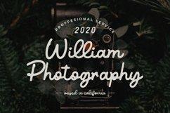 Vintage Script Font - Benjamin Victoria Product Image 2