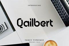Qailbert Typeface Product Image 1