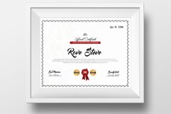 Clean Diploma Certificate Template Product Image 1