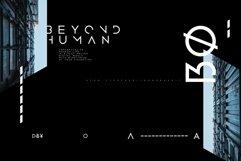 Atom - Sharp edge Future Scifi font Product Image 3