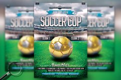 Soccer Cup | Modern Flyer Template Product Image 1