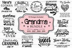 Grandma SVG Bundle, Grandmother Quotes And Sayings Product Image 1