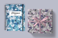 Sakura Flower Digital Paper Seamless Patterns Watercolor Product Image 3