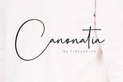 Canonatia // Handwritten Font Product Image 1