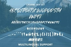 Web Font Jumpoffs - Brush Script Font Product Image 5