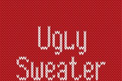 Christmas Knitted Font Version 3.0 Product Image 5