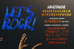Whittaker - A Brush Typeface Product Image 5