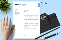 Simple Resume CV Template for Word & Pages Stella Morgan Product Image 5