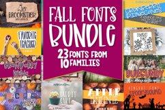 Fall Font Bundle - 23 Cut Friendly Fonts! Product Image 1