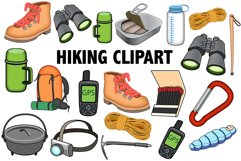 Hiking Clipart Product Image 1