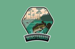 Monsterbass Badges set Product Image 3