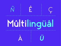 George Sans - 8 Fonts Geometric Typeface Product Image 5