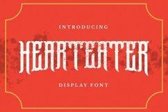 Web Font Hearteater Font Product Image 1