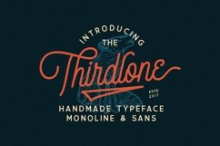 Thirdlone - Font Duo Product Image 1