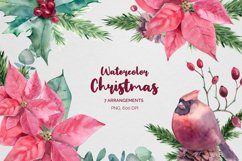 Christmas Watercolor compositions Product Image 1