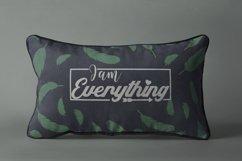 I am Everything. Svg quote Product Image 1