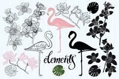 Flamingo. Tropical paradise. Product Image 2