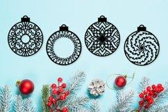 Christmas Ornament Dingbat Font Product Image 4