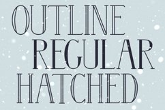 Wintery - A Serif Font Family Product Image 5