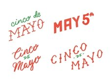 Cinco De Mayo Lettering Pack Product Image 4