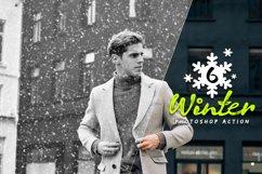 6 Winter Photoshop Action Product Image 1