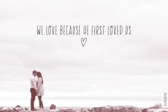 He Loves Me Skinny Font Product Image 2