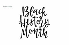 Black History month sublimation png svg eps African American Product Image 3