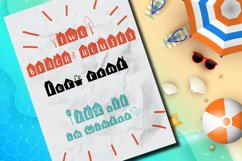 Popcornville font and beach house style - two style fonts Product Image 3