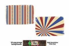 Patriotic July 4th Grunge Backgrounds for Dye Sublimation Product Image 4