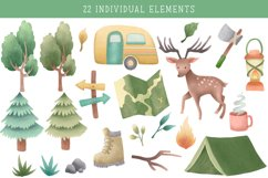 Wild and Free Camper Clipart Pack Product Image 3