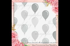 100 Seamless Balloon Pattern Kid Birthday Digital Papers Product Image 2