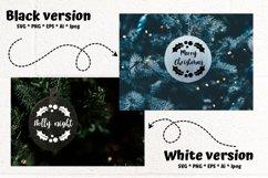 Christmas Ornaments Rounds Bundle SVG Product Image 2