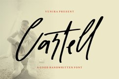Cartel   Script Handwritten Font Product Image 1