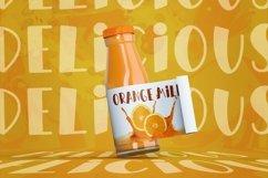 Orange Milk Product Image 2