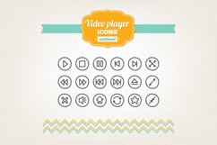 Hand Drawn Player Icons Product Image 1