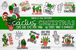 Cactus Christmas SVG Bundle Product Image 1