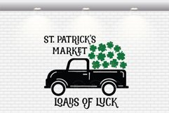 St. Patrick's Market - Loads Of Luck SVG Cut Files Product Image 3