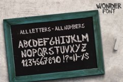 Wonderfont Brush Typeface Product Image 4