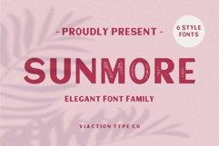 Sunmore - Elegant Font Product Image 1