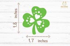 St.Patricks Day Clover Earrings SVG, Shamrock Earrings svg Product Image 3