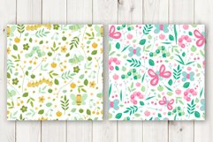 Floral animal cute seamless patterns for baby Product Image 3