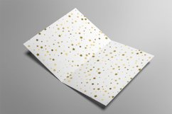 Digital papers seamless gold star confetti Product Image 2