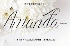 Amanda Script Product Image 2