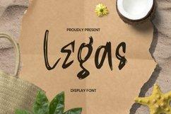 Web Font Legas Font Product Image 1