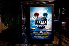 Hockey Flyer Product Image 2