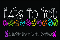 Ears to You Bunny Font Product Image 1